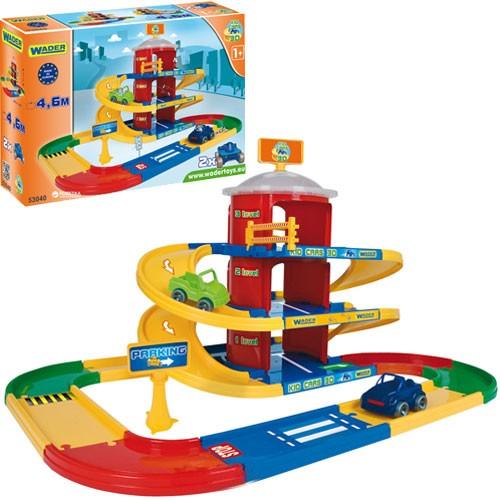 Паркинг 3 этажа Wader Kid Cars 3D 53040