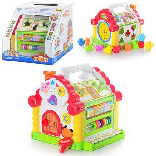 Развивающая музыкальная игрушка Теремок 9196