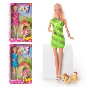 Кукла Defa с собачкой 8232