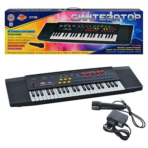 Детский синтезатор с микрофоном SK 3738