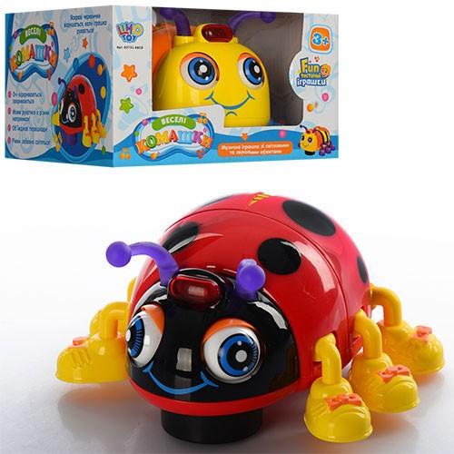 Музыкальная игрушка Веселые букашки 82721 ABCD