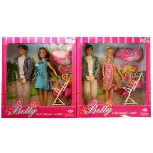 Набор кукол Семья 3356