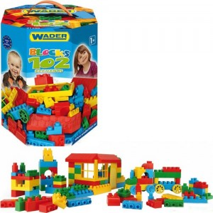 Конструктор 102 элемента Wader 41290