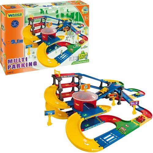 Мультипаркинг с дорогой Wader Kid Cars 3D 53070