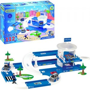 Полицейский участок Wader Kid Cars 3D 53320