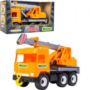 Middle truck Кран city Wader 39313