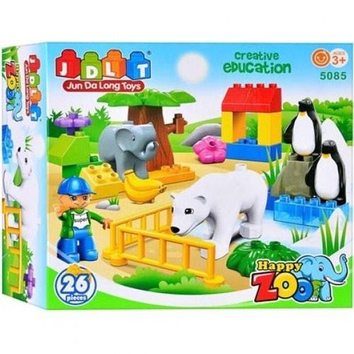 Детский конструктор Зоопарк JDLT 5085
