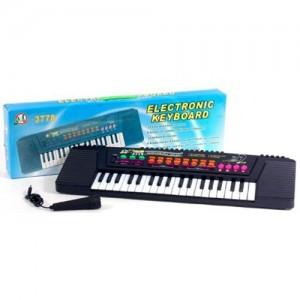 Детский синтезатор с микрофоном MQ-3778
