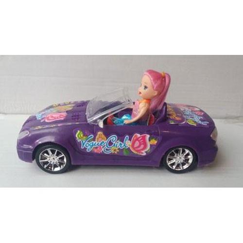 Машинка с куклой 5677