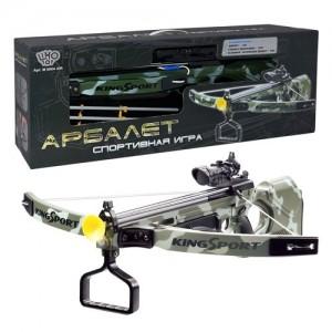 Арбалет игрушечный King Sport M 0004 U/R