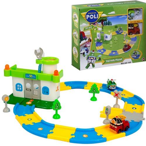 Игровой набор Робокар Поли XZ-192-3-4-5
