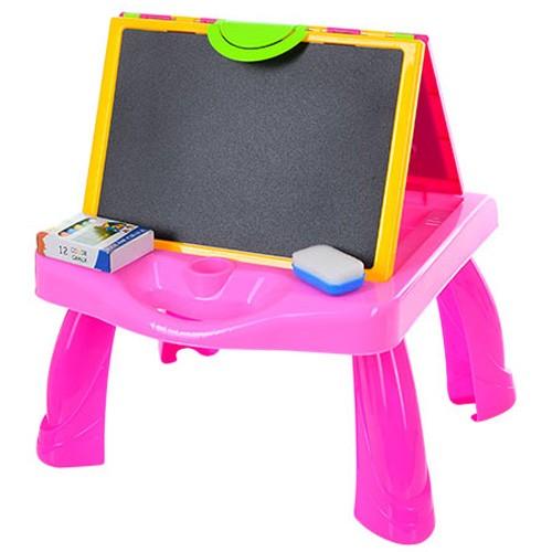 Столик 3в1 с проектором для рисования YM155-156